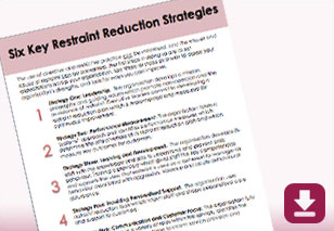 Six Key Restraint Reduction Strategies