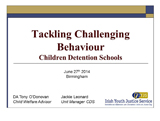 Tackling Challengeing Behaviour